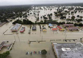 Hurrikan Harvey hinterlässt Spuren in Houston