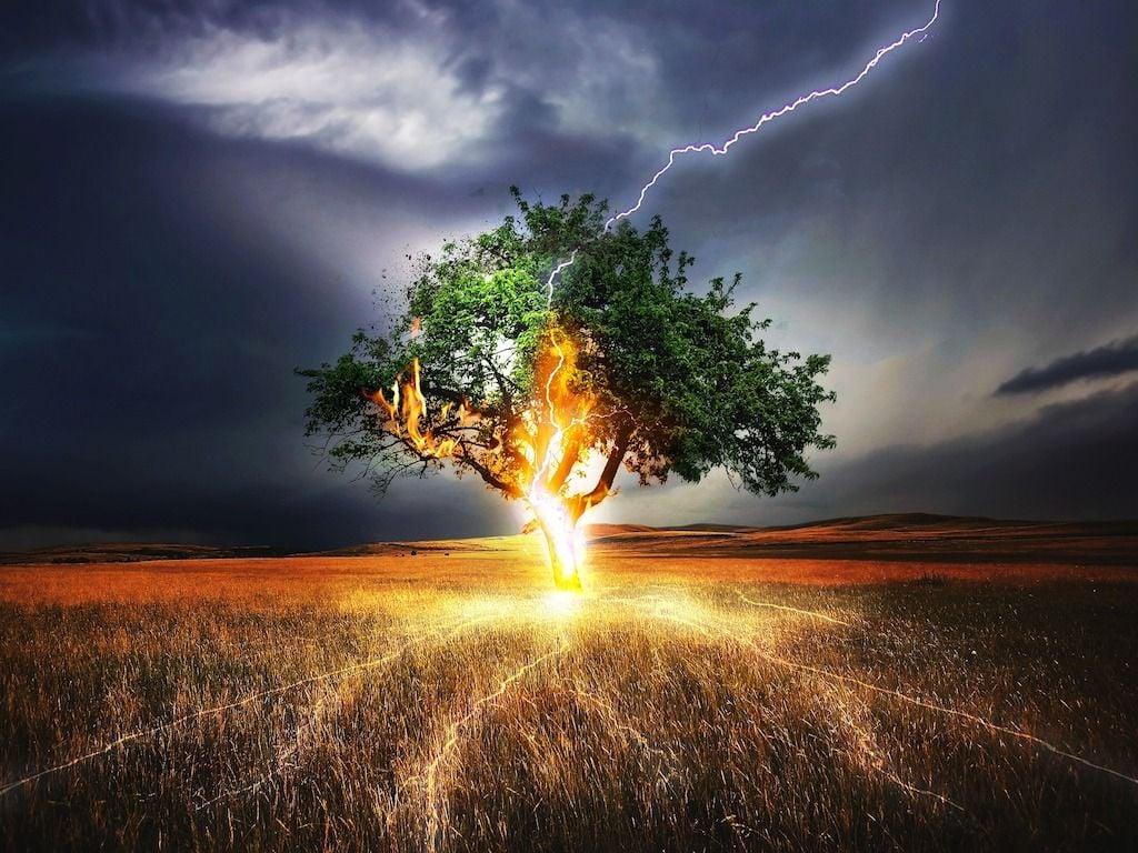 I luoghi pericolosi in presenza di fulmini