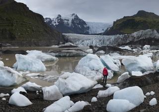 'Grímsvötn' el volcán más activo de Islandia podría hacer erupción