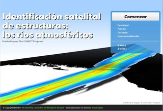 Identificación satelital de estructuras: los ríos atmosféricos