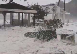 Il ciclone tropicale mediterraneo si abbatte sulla Grecia: i video