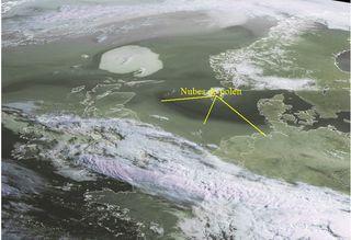 Imagen única: nubes de polén sobre Europa