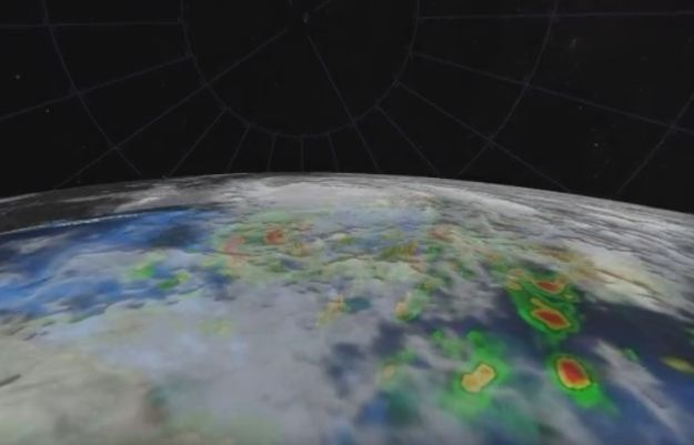 Imágenes únicas: Sumérgete En Una Vista De 360º En El Huracán Maria