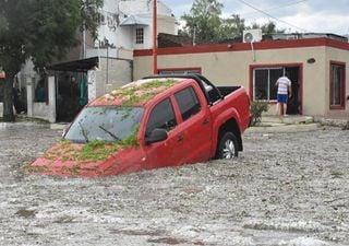 Heftige Überschwemmungen und Hagel: Unwetter richten Schaden an!