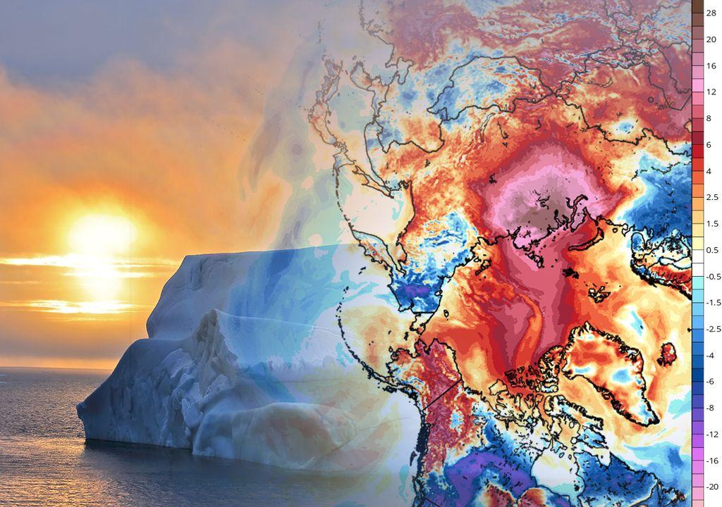 Calor en el Ártico
