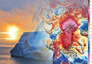 Una 'ola de calor' en el Ártico está provocando un importante deshielo
