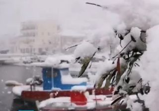 Importanti nevicate in Grecia e Turchia: ecco i video
