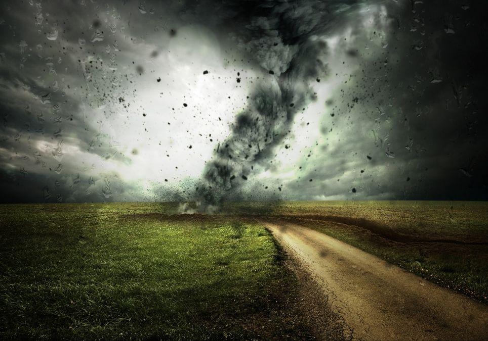 Tornado sind gefährlich