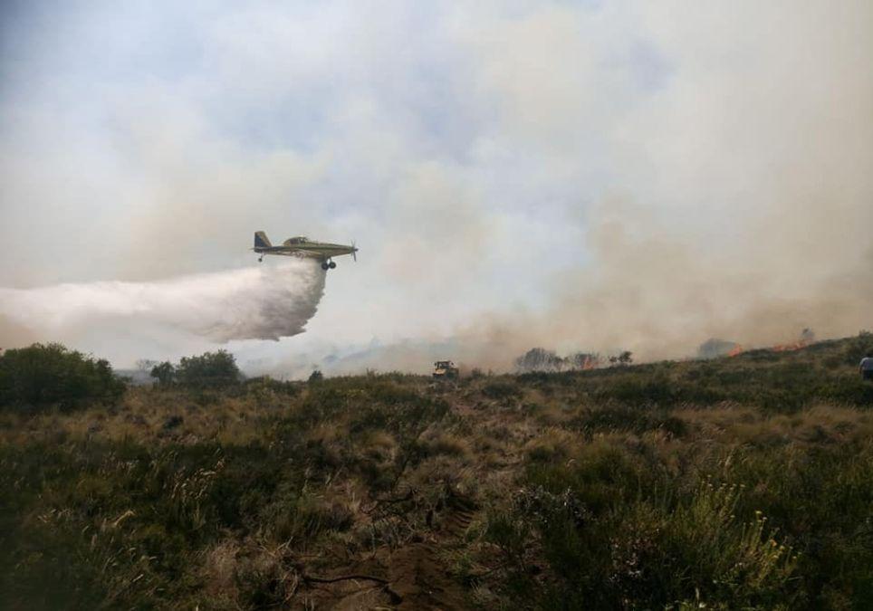 Incendio Epuyén