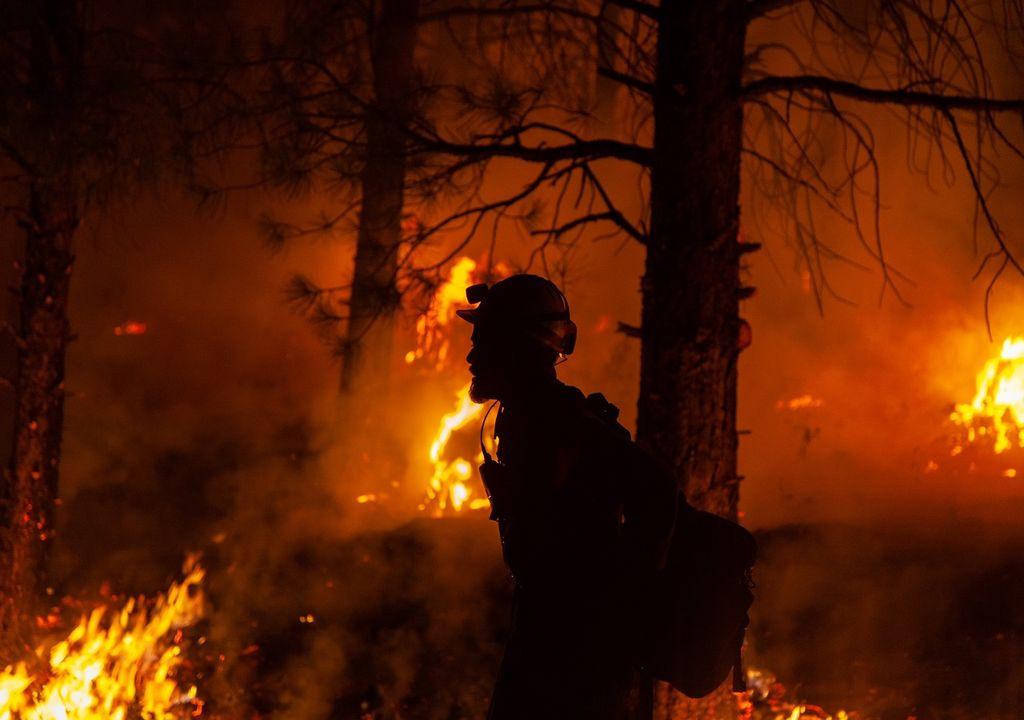 Incendio forestal Bootleg Fire