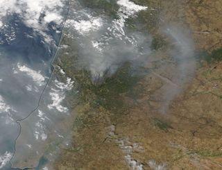 Incendios forestales mortiferos en Portugal