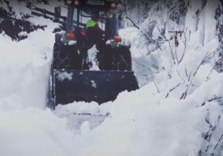 Incríveis nevões nos Alpes: veja aqui o vídeo!