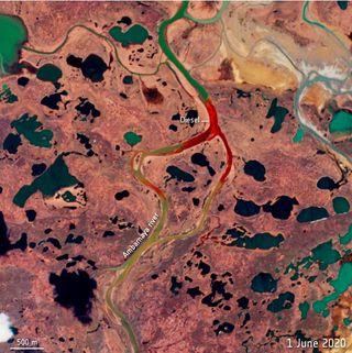 Indemnización de $ 2 mil millones por el derrame en el Ártico ruso