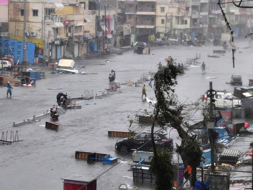 evacuación fani bangladesh india inundación índico huracán