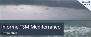 Informe de temperatura del Mediterráneo - Otoño 2020