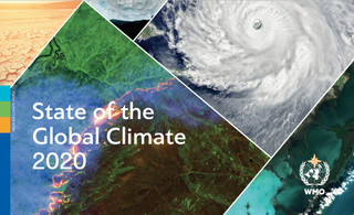 Informe sobre el estado del clima global de 2020