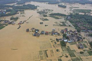 Inondations catastrophiques en Chine : 400 000 personnes évacuées !