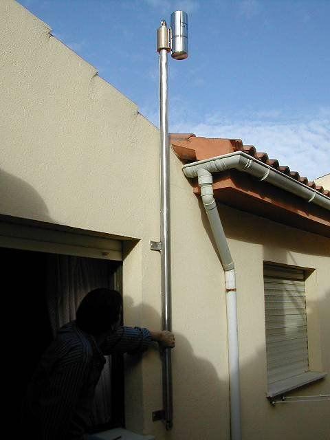 Instalación De Una Estación Meteorológica: Artesanía E Ingienería Cogidas De La Mano