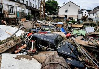 Inundaciones en Alemania y Bélgica dejan muerte y destrucción