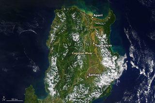 Inundaciones en el norte de Luzón, Filipinas