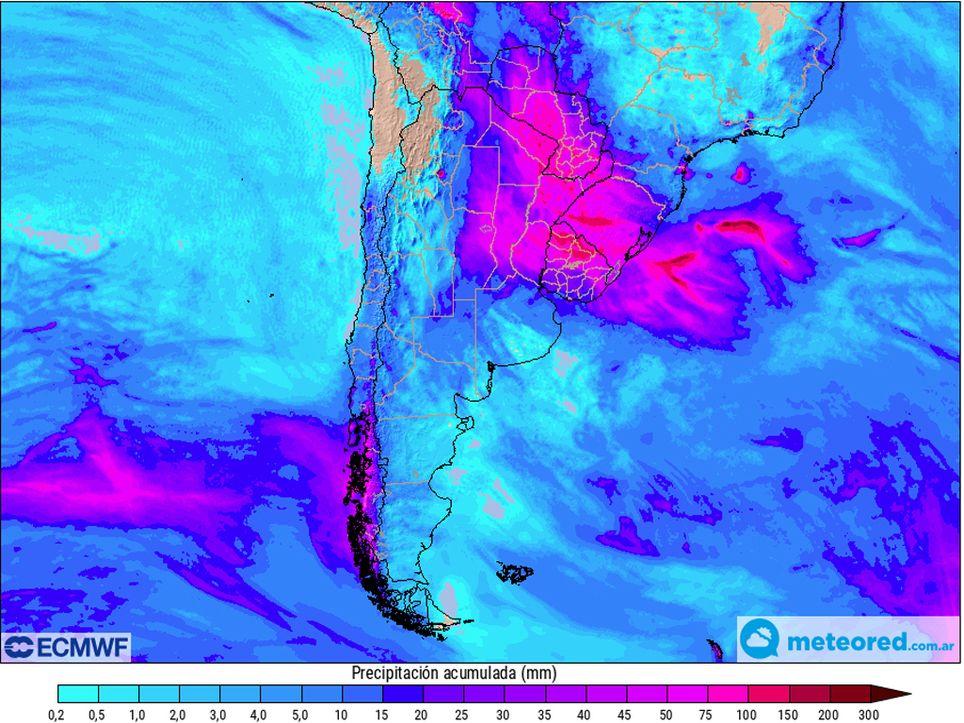 Lluvias pronostico tendencia precipitaciones