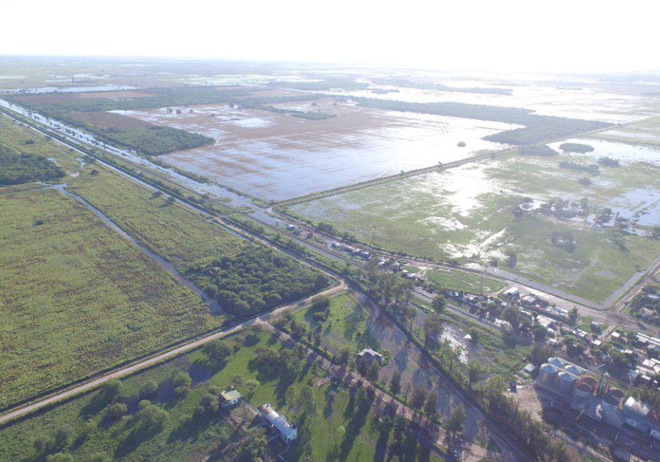 Inundaciones Litoral noreste lluvias alerta crecida Uruguay