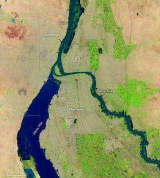 Inundaciones récord en Sudán