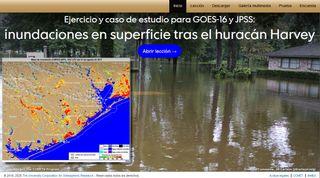 Inundaciones superficiales del huracán Harvey