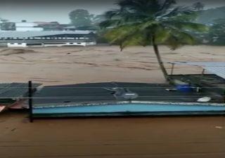 Inundações causam mortes e estragos no sudoeste da Índia