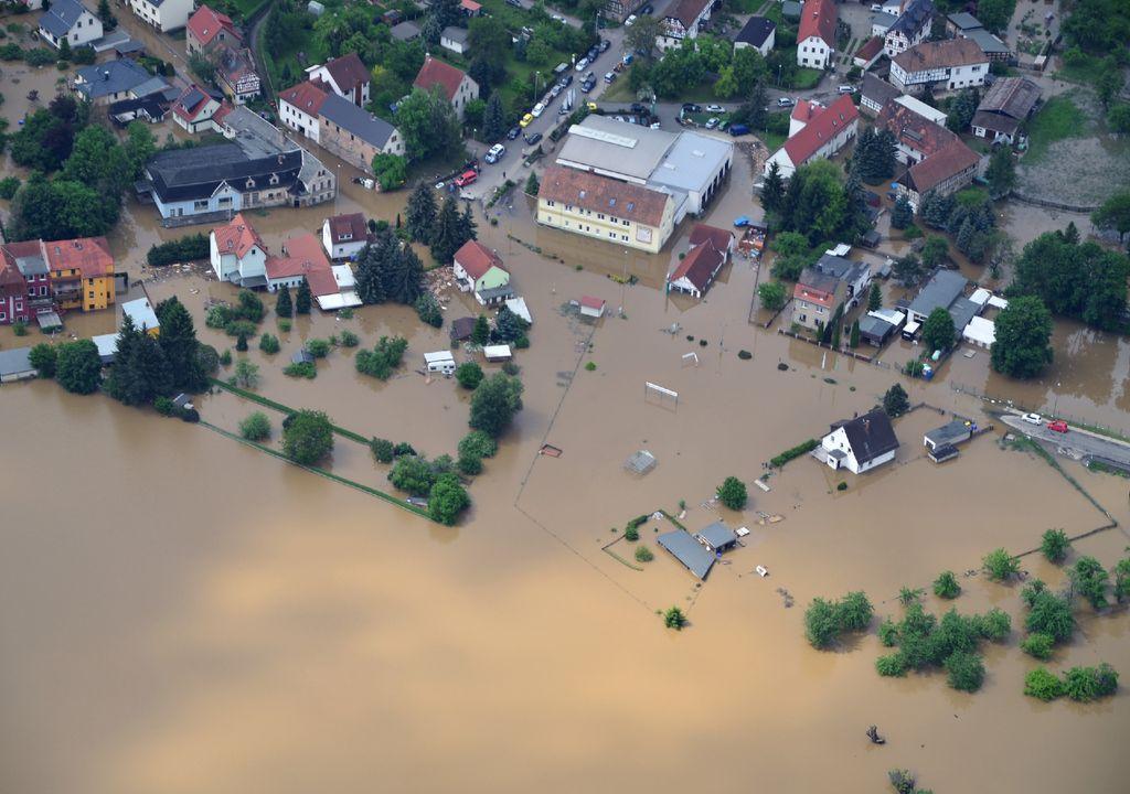 Inundações.