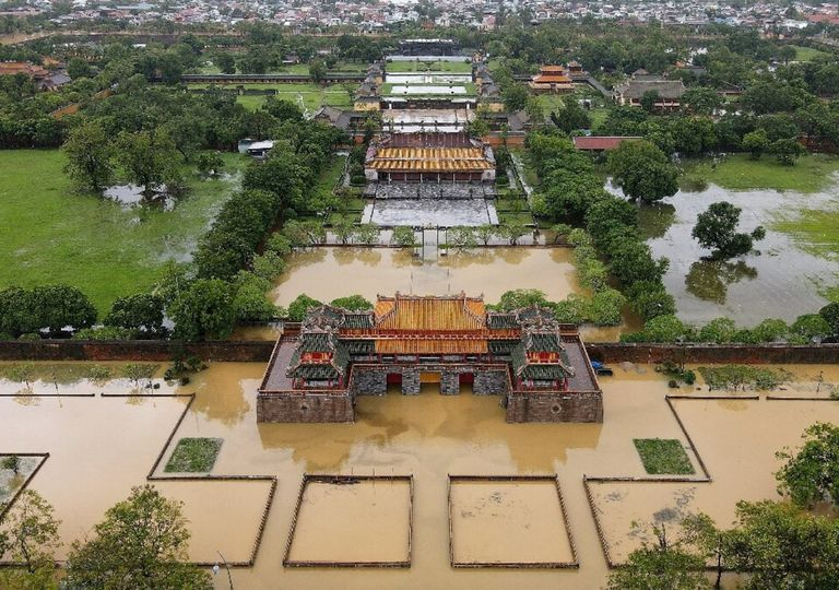 inundações Vietnã