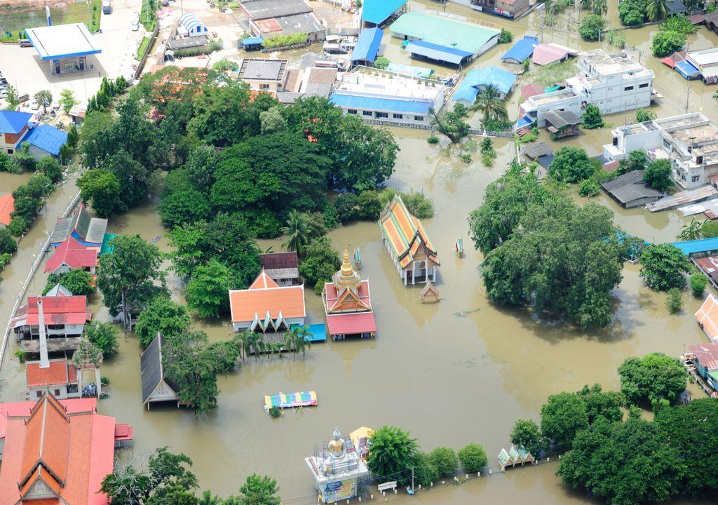 cheia; Tailândia