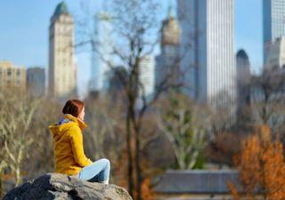 Invierno de récord en Nueva York: ni rastro de nieve en Central Park
