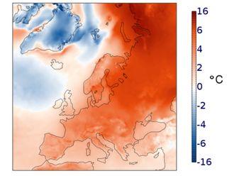 Invierno récord de calidez en el Norte de Europa: Greta preocupada