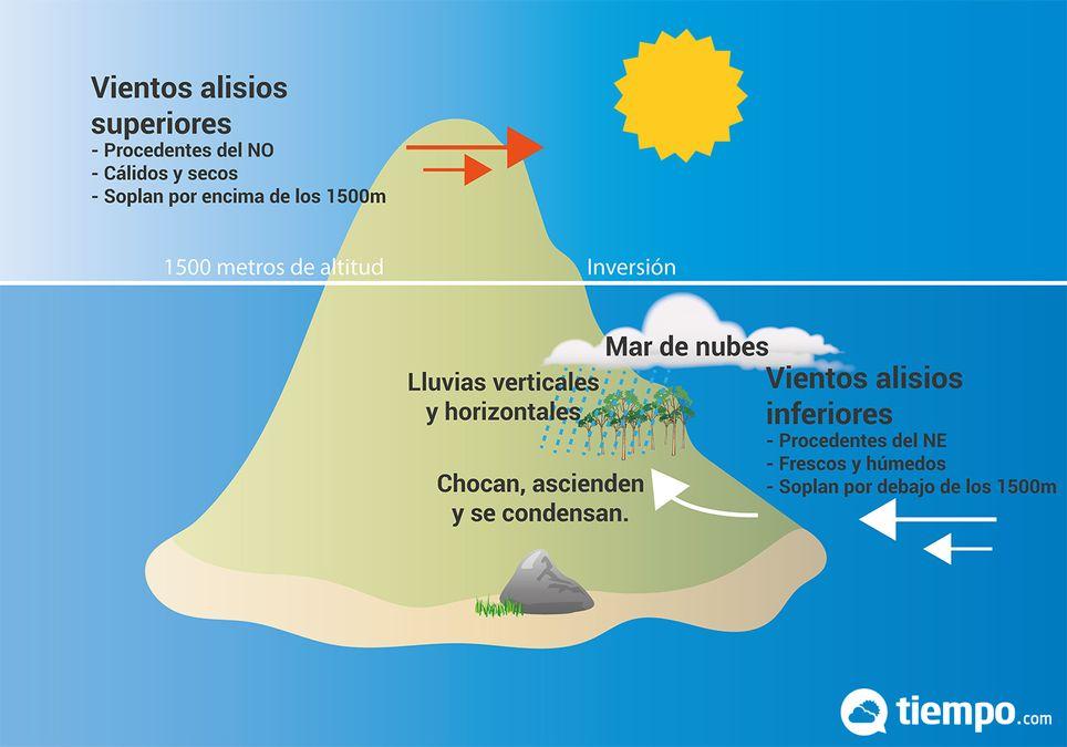 Esquema climático Canarias