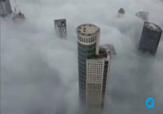 Densa niebla cubrió ciudades de Israel por varios días