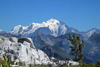 Climat : un glacier au bord de la rupture dans le massif du Mont-Blanc