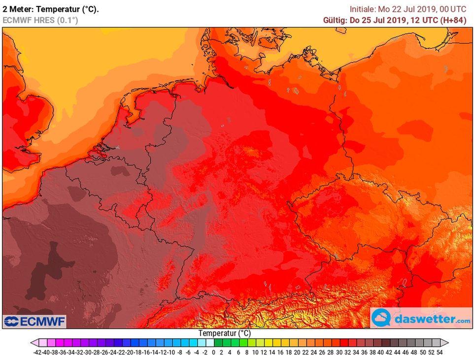 Heißester Tag aller Zeiten?