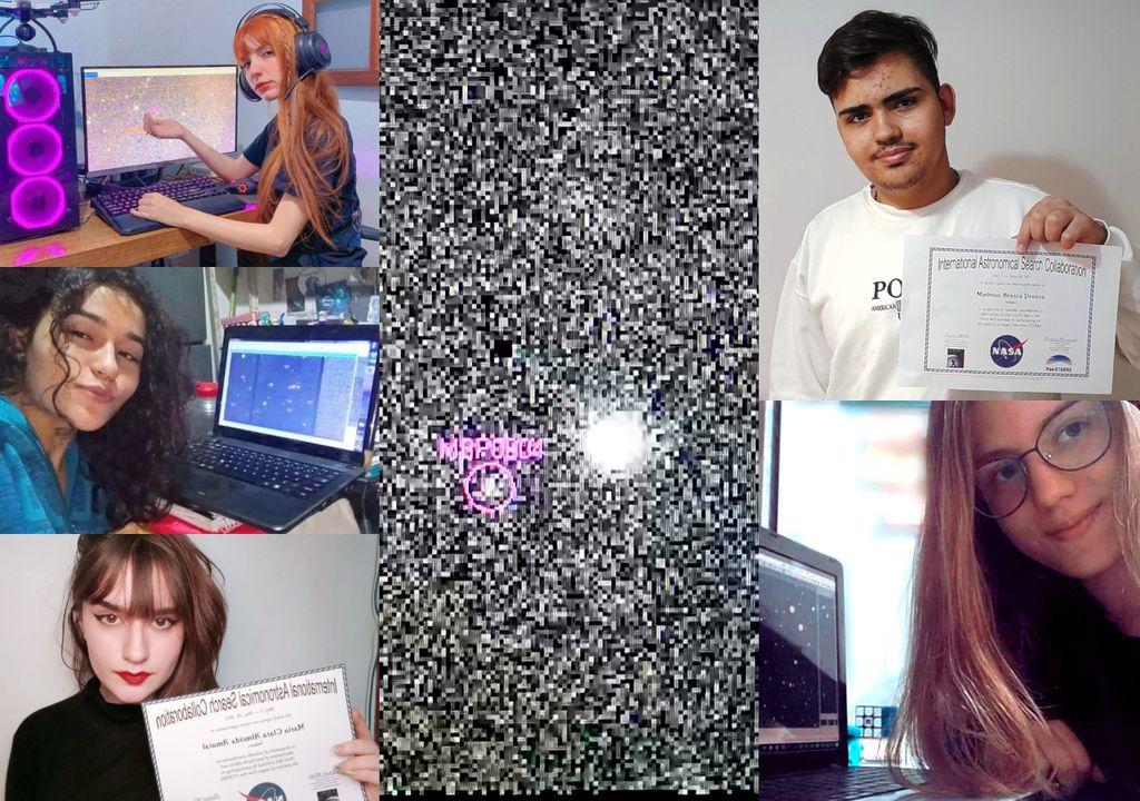 Jovens brasileiros descobrem asteróides confirmados pela NASA