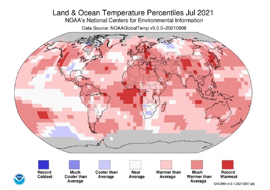 percentiles de alta temperatura julio 2021