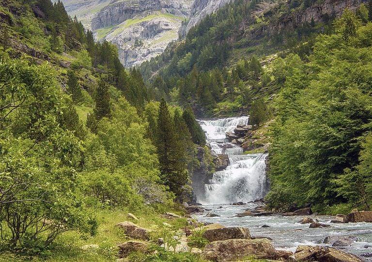 Los Pirineos en junio han tenido importantes precipitaciones