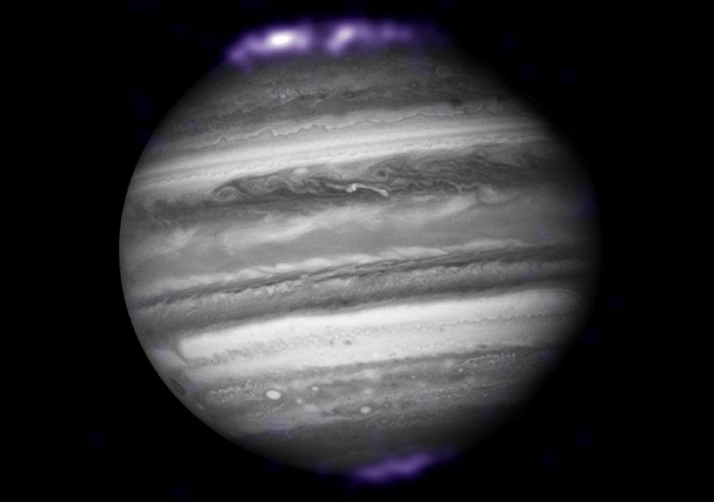 Júpiter y auroras polares de rayos X