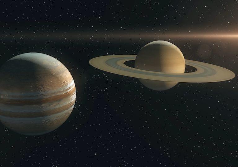 Jupiter Saturno Conjunción