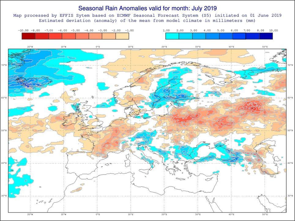 Dürre Juli 2019