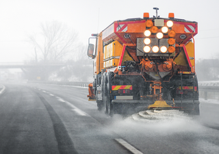 Key workers: the gritters and forecasters keeping UK roads safe