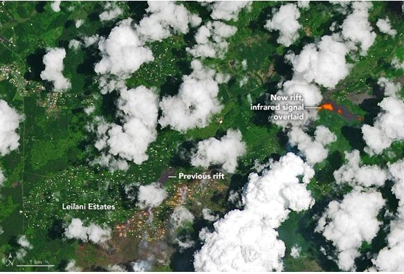 Kilauea Sigue Erupcionando