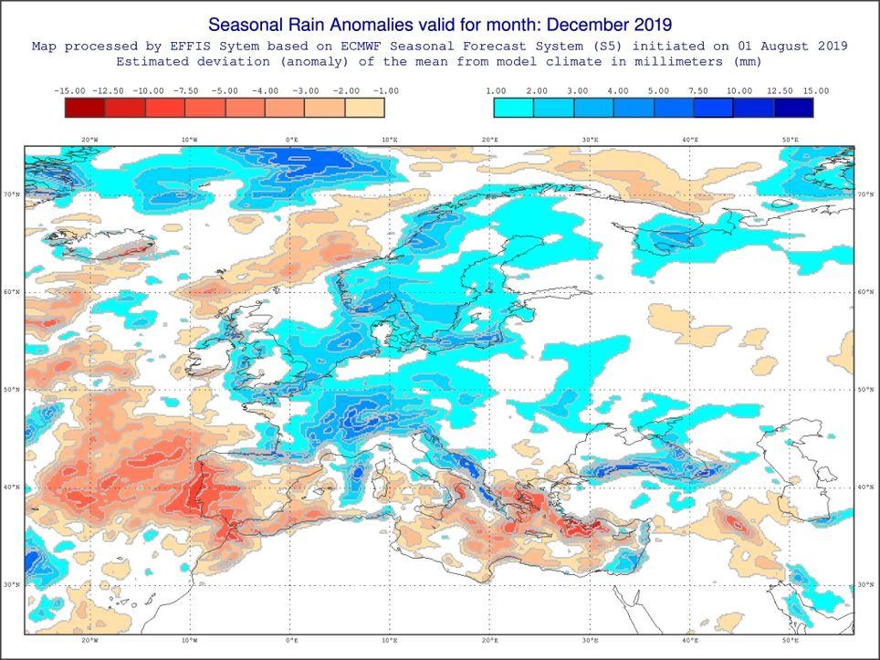 Dezember sehr nass