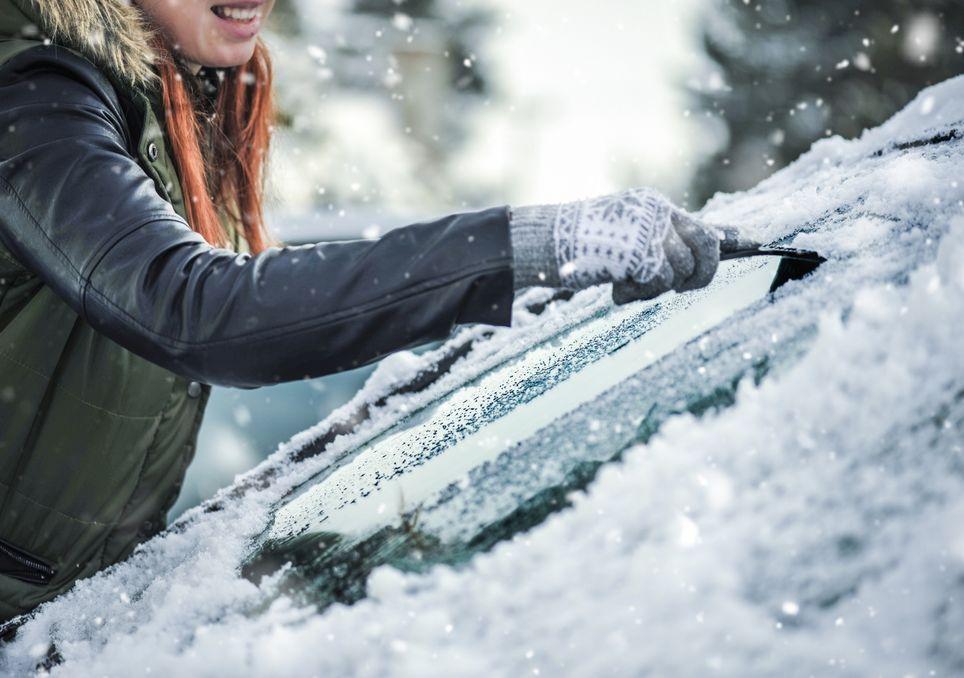 Frost und Schnee