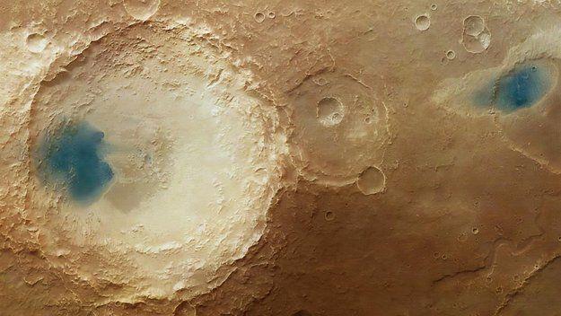 La Acción De Los Vientos En Marte