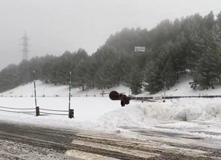 La borrasca Dora deja el primer temporal invernal de la temporada